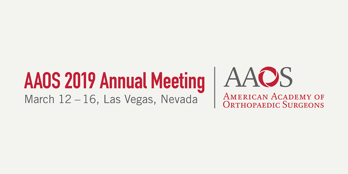 Home | AAOS 2019 Annual Meeting